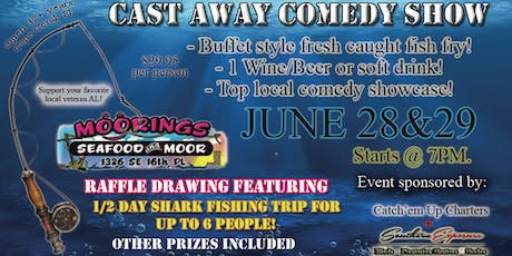 New England Moorings Cast Away Comedy Show & Fish Fry tickets