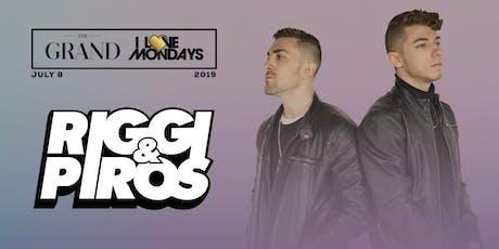 I Love Mondays feat. Riggi & Piros | The Grand Boston 7.8.19 tickets