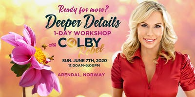 Deeper Details - 1 Day Mediumship Workshop with Colby in Arendal