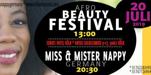 Afro Natural Beauty Festival mit Miss Nappy Germany 2019