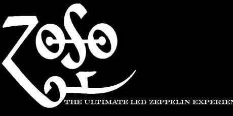 Zoso - The Ultimate Led Zeppelin Experience tickets