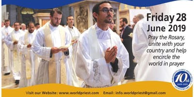 Worldpriest 10th Annual Global Rosary Relay at Champion Shrine