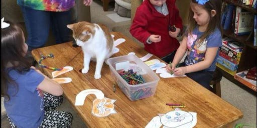 Kids Craft Morning with Cats
