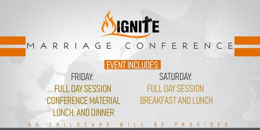 Ignite Marriage Conference 1019