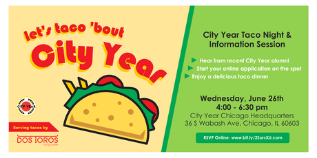 Let's Taco 'Bout City Year tickets