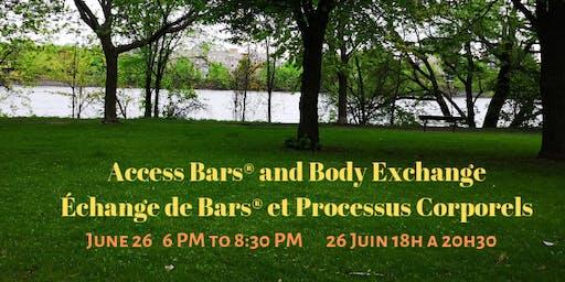 Body and Bars® Exchange/ Échange de Bars® et Processus Corporels
