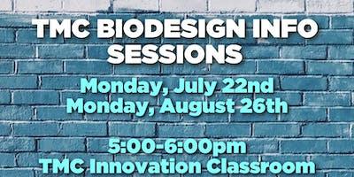 TMC Biodesign Info Sessions