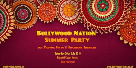Bollywood Nation Summer Party at Russell Court Hotel tickets