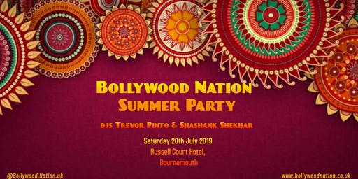 Bollywood Nation Summer Party at Russell Court Hotel