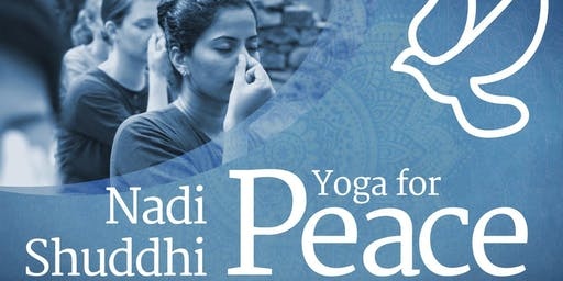 Yoga for Peace - Free session in Frankfurt (Germany)