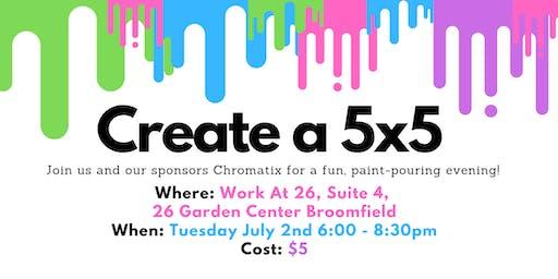 Create a 5x5 - Class