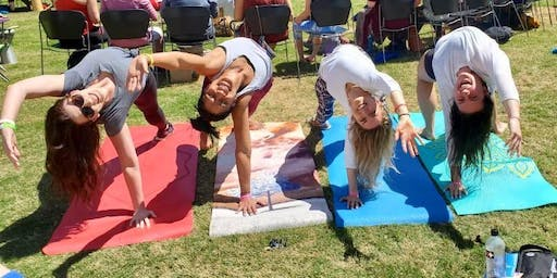 Ladies Beginner Yoga in the Park