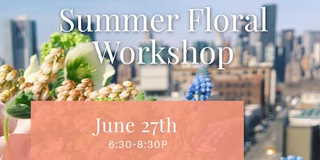 Summer Floral Workshop tickets