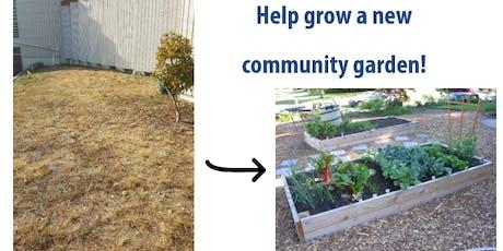Volunteer: Community Garden Build Burien tickets