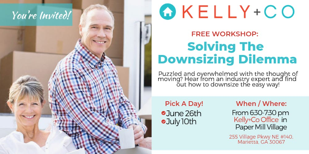 Solving the Downsizing Dilemma FREE Workshop