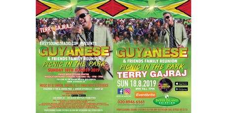 GUYANESE FAMILY & FRIENDS REUNION PICNIC IN THE PARK tickets