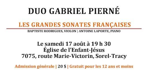 Duo Gabriel Pierné à l'Église l'Enfant-Jésus