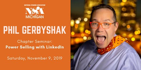 "Phil Gerbyshak's ""Power Selling With Linked In"" tickets"
