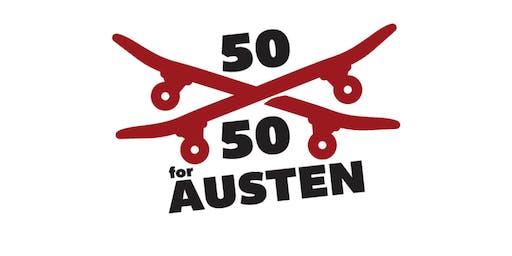 50-50 for Austen