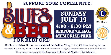 Sponsor Blues & BBQ for Bedford Organized by Rotary & Lions tickets