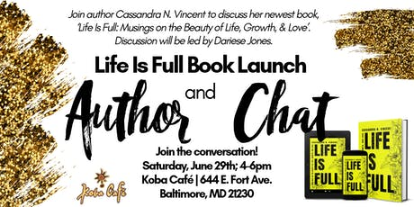 Book Launch & Discussion: Life Is Full tickets