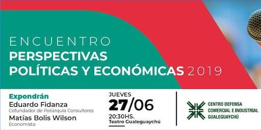 Encuentro de Perspectivas Políticas y Económicas