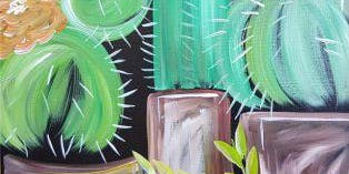 An Evening With Paintergirl~Spring Succulents-Painting in the Park~ALL AGES