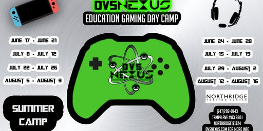 Education Gaming Day Camp Week 1