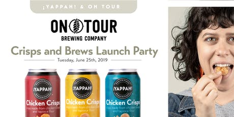 ¡YAPPAH! x On Tour – Crisps and Brews Launch Party   tickets