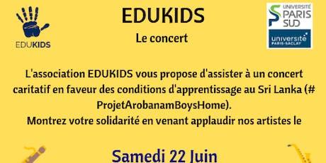 Concert caritatif  pour le projet Arobanam Boy's home billets
