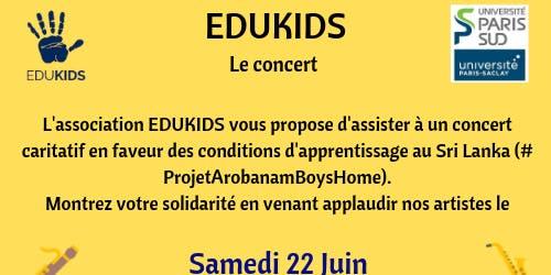Concert caritatif  pour le projet Arobanam Boy's home