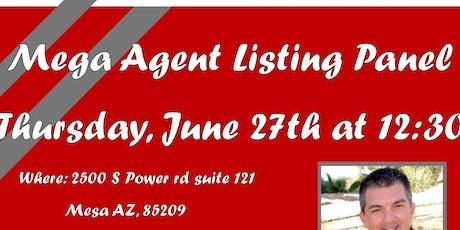 Mega Agent Listing Panel tickets