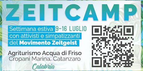 ZeitCamp 2019 biglietti