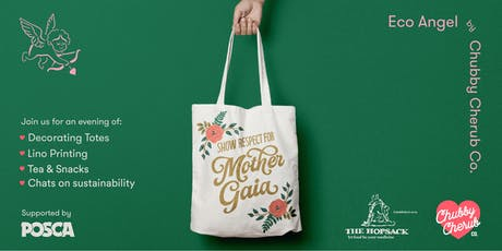 Tote Bag Design & Litho Printing Workshop with Eco Angel by Chubby Cherub Co tickets