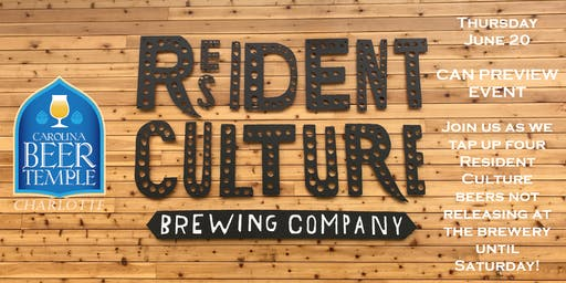 Resident Culture Preview Event vol. 3