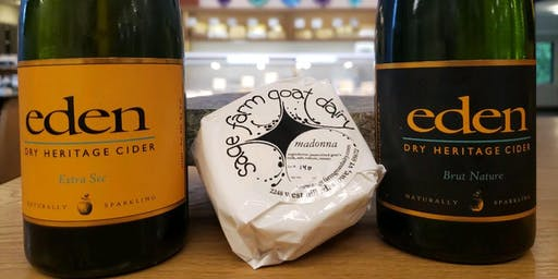 Cider and Cheese with Eden Cider and Sage Farm Goat Dairy