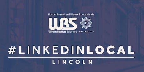 #LinkedinLocal Lincoln tickets
