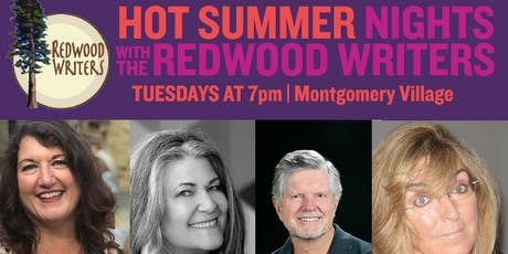 REDWOOD WRITERS: HOT SUMMER NIGHTS SERIES (7/16) tickets