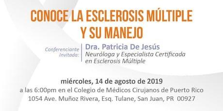 Conoce la Esclerosis Múltiple y su Manejo tickets