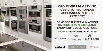 Learn why WILLIAM LIVING is using top European Appliances!
