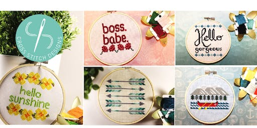 Intro to Cross Stitch Workshop @ Markets by Dream Day in Whitby
