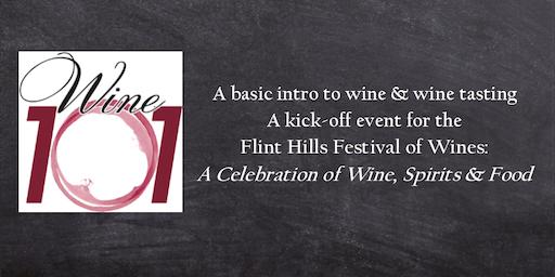Wine 101: Wine Basics event to kick-off the Flint Hills Festival of Wines