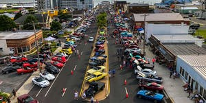WHEELS ON the WATERFRONT WOW Cruise-In (A&E District...