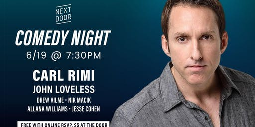 Comedy Night with Carl Rimi from Comedy Central