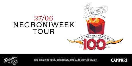 Negroni Tour entradas