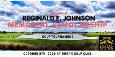 Reginald E. Johnson Scholarship Golf Tournament tickets