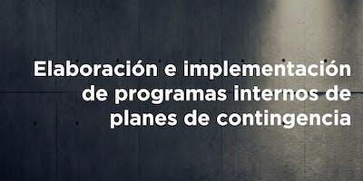 Curso: Elaboración e Implementación de Programas Internos y Planes de Contingencia