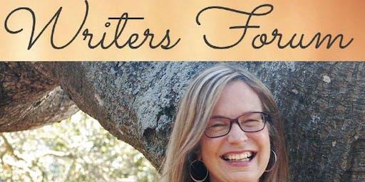 WRITERS FORUM: SUSAN BONO