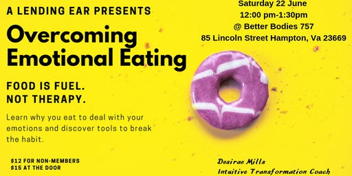 Overcoming Emotional Eating