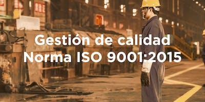 Diplomado: Gestión de Calidad ISO 9001